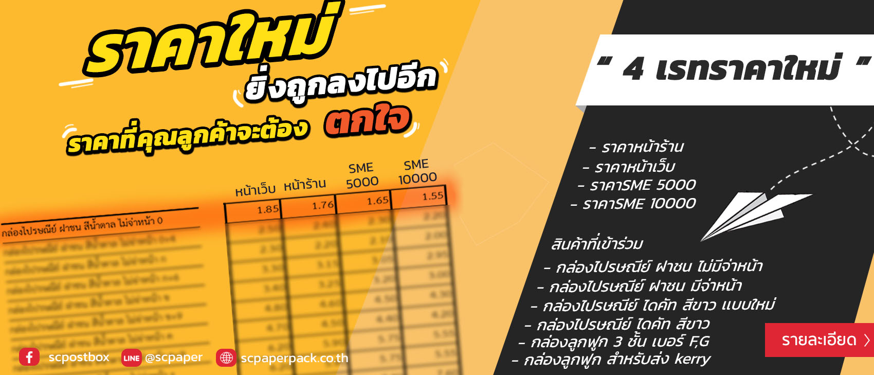 ์New Pro New Price Rate